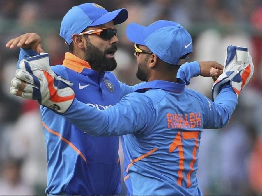 Virat Kohli Praises Rishabh After India's T20I Clean Sweep Against West Indies