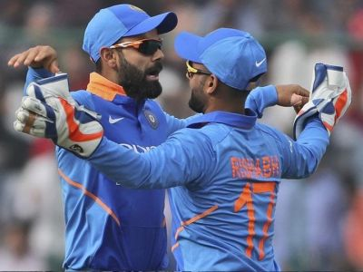 Virat Kohli Praises Rishabh After India's T20I Clean Sweep Against West Indies