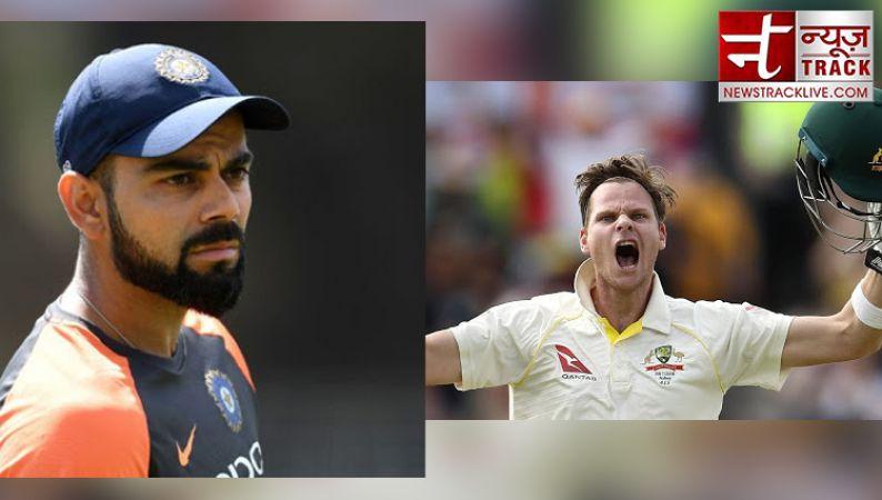 टेस्ट में विराट की बादशाहत ख़त्म, स्मिथ फिर बने नंबर वन