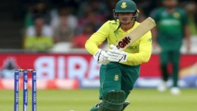 Quinton de Kock to lead South Africa in T20Is vs India