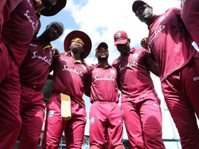 The West Indies handed over the responsibility to two giants to win the Test series against Team India