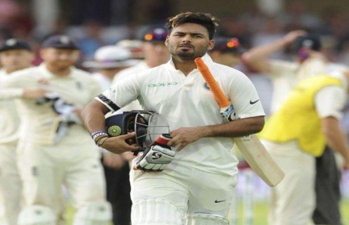 करियर के पहले ही टेस्ट में कभी ना टूटने वाला रिकॉर्ड बना गए पंत, ऐसा करने वाले बने पहले भारतीय