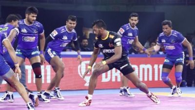 PKL 2019 : तेलुगु टाइटंस ने हरियाणा स्टीलर्स को दी शिकस्त