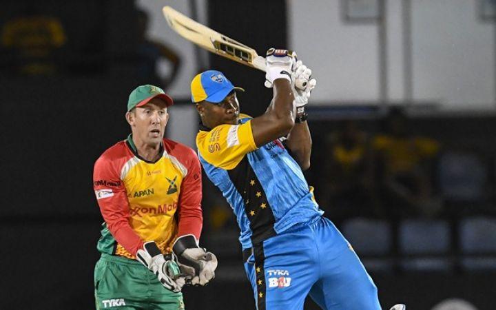 पोलार्ड का धमाका एक ओवर में बनाए  30 रन