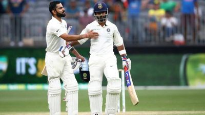 Kohli and Rahane broke the record of these two giants together