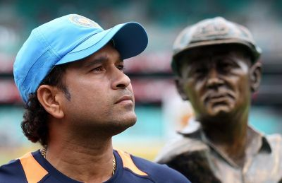 Sachin paid tribute to this great batsman