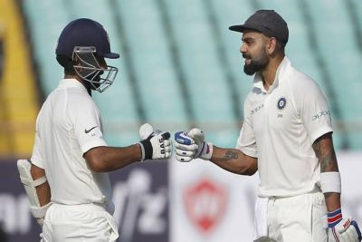 India vs West Indies 2nd Test: Kohli's half-century helps India into a strong position