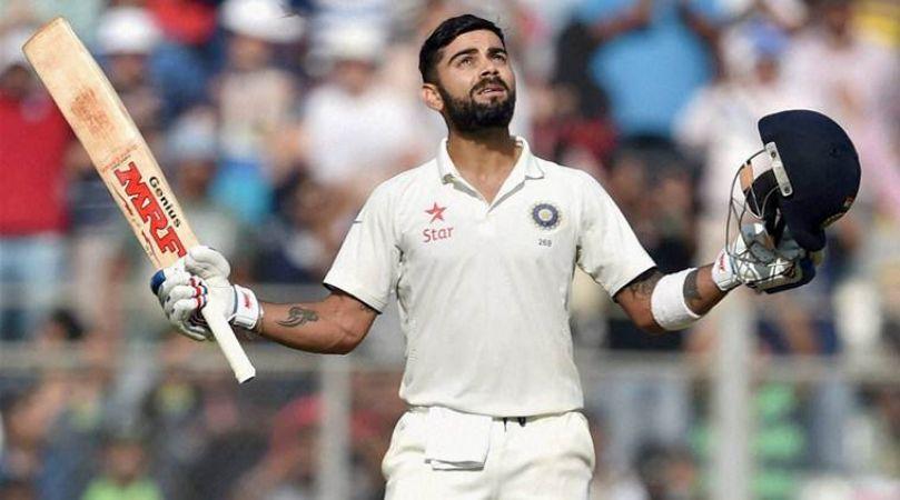 दिल्ली टेस्ट: पहले दिन भारत ने लंका को धोया, भारत 371/4
