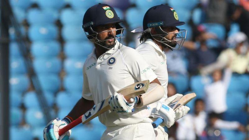 दिल्ली टेस्ट : लंच के बाद भारत का स्कोर 148/2