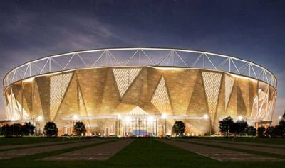 Ahemdabad: World's largest stadium nearly ready, match between these two teams can happen