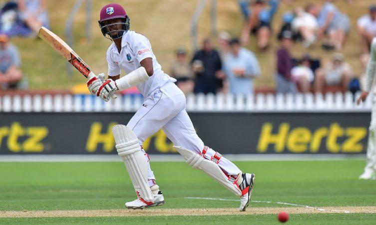 NZvsWI :  दूसरी पारी में विंडीज 2 विकेट पर 214 रन