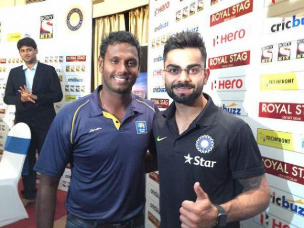 भारतीय खिलाड़ी मैदान के बाहर अच्छे दोस्त- मैथ्यूज