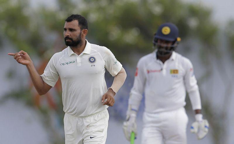 प्रदूषण पर शमी ने दिया श्रीलंकाई खिलाड़ियों को जवाब