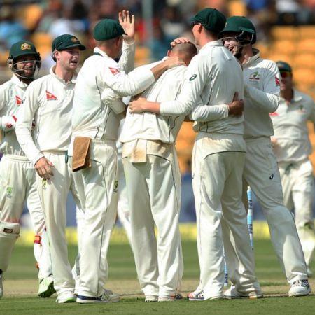 दूसरे टेस्ट मैच में ऑस्ट्रेलिया ने भारत को बड़े अंतर से हराया