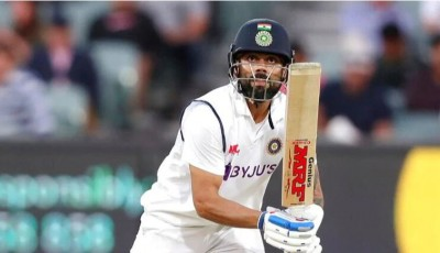AUS Vs IND: Virat Kohli shows his strength on first day, responsibility now on Ashwin and Saha