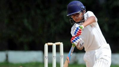 Samit Dravid hits double century in Under-14 match