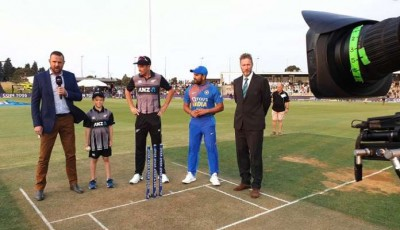Ind Vs NZ: India choose batting after winning the toss, Rohit Sharma gets team's command