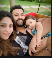 Rohit Sharma celebrates Valentine's with his wife in this way, Know here