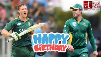 AB De Villiers, known as Mr. 360 degree, is celebrating his 36th birthday today