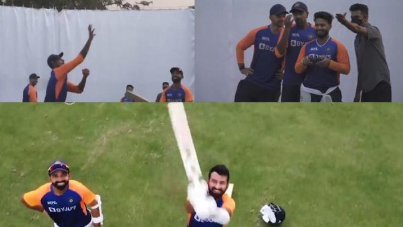 Ind Vs Eng: तीसरे टेस्ट के पहले कैमरे से छेड़छाड़ करती नज़र आई टीम इंडिया, BCCI ने शेयर किया वीडियो