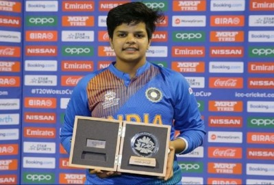Shafali Verma youngest female player to get title of 'Man of the Match'