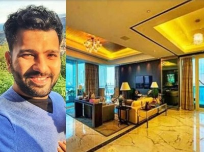 Your mind will blow after knowing the price of luxury flat of Rohit Sharma