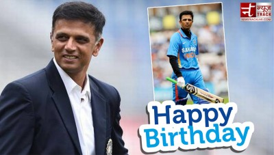 Birthday greetings to former Team India captain Rahul Dravid
