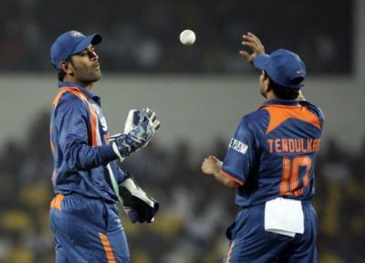MS Dhoni can return to field with Sachin Tendulkar on this day