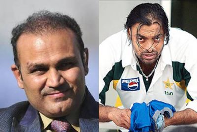 'Shoaib Akhtar praises Team India for money', tweet by Sehwag created uproar