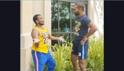 Dhawan and Prithvi Shaw clash before Sri Lanka tour, caught on camera