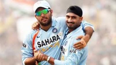 Yuvraj celebrates Harbhajan's birthday in this way
