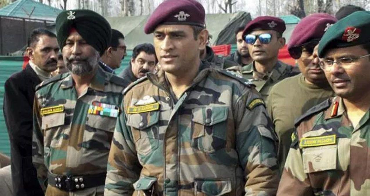 महेंद्र सिंह धोनी को मिली आर्मी के साथ ट्रेनिंग की इजाजत