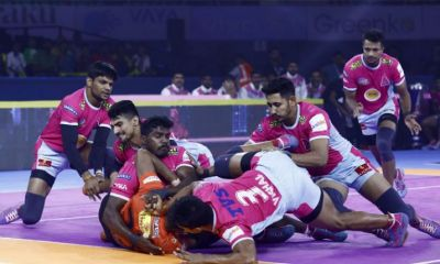 Pro Kabaddi League: Jaipur Pink Panthers defeats U-Mumba by 42-23