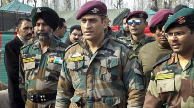 Dhoni to stay with Army Battalion in Kashmir for this time period!