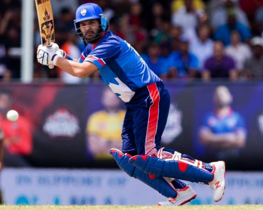 Global T20 Canada: Yuvraj shows old self with crisp 35
