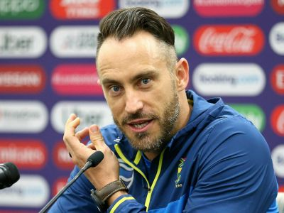 England team was better than us: Faf Du Plessis