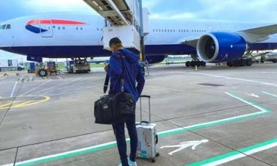 WTC final: Team India arrives in England, KL Rahul shares photo