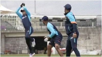 WTC Final: Team India on the ground for practice, see Video