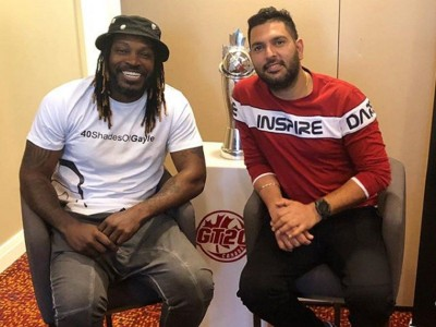 Good news for cricket lovers! Yuvraj Singh and Chris Gayle to be seen playing for this team soon
