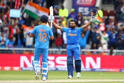 WC 2019: Rohit Sharma breaks MS Dhoni's record for sixes