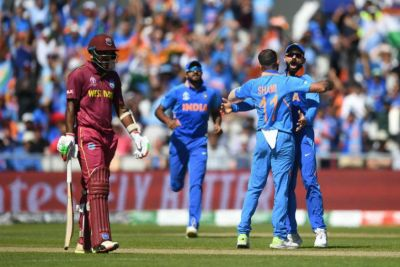 India's winning streak continues, defeat West Indies by 125 runs