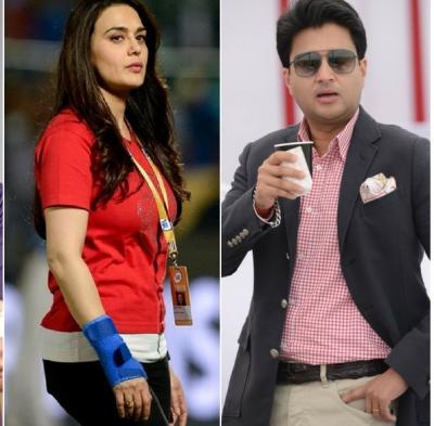 IPL 2018 : कांग्रेस नेता सिंधिया ने प्रीति से कहा पहले बल्लेबाजी करते, तो मिला यह शानदार जवाब