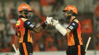 IPL 2018 FINAL LIVE : हैदराबाद का स्कोर 60 के पार, धवन-विलियम्सन क्रीज पर मौजूद