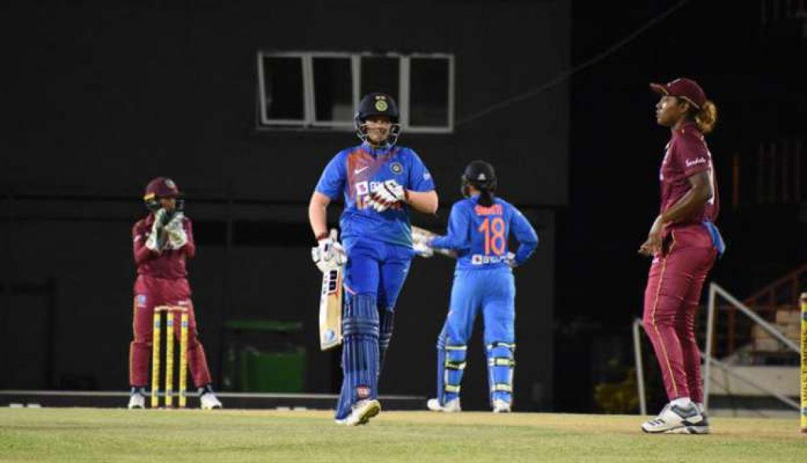 IND vs WI: टी-20 सीरीज में महिला भारतीय टीम ने की दर्ज की जीत, शेफाली और मंधना बनाया रिकॉर्ड