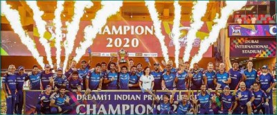 Mumbai Indians become IPL champions for 5th time