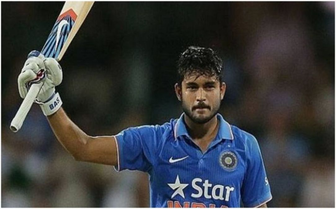Manish Pandey smashes stunning century, makes 108 runs only with fours and