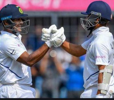 मयंक अग्रवाल ने बनाया धमाकेदार सतक, मैच पर भारत की पकड़ मजबूत