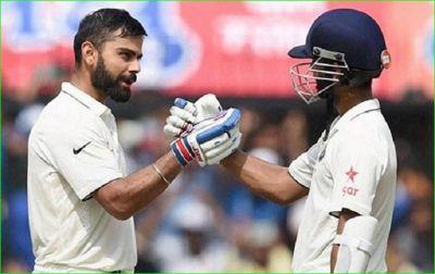 Ind Vs Ban Test: Kohli-Rahane created history in Test cricket, left Sachin-Sourav behind
