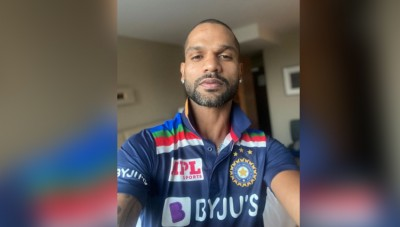 Ind Vs Aus: Team India gets new jersey, Shikhar Dhawan shares photo