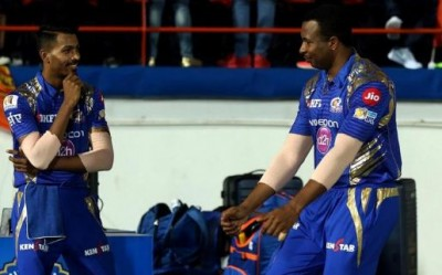 IPL 2020: Pollard and Pandya's stormy duo hits this much runs in just 4 overs to defeat Punjab